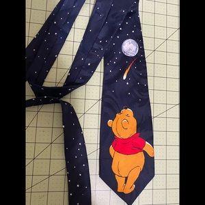 Winnie the Pooh cartoon fun tie